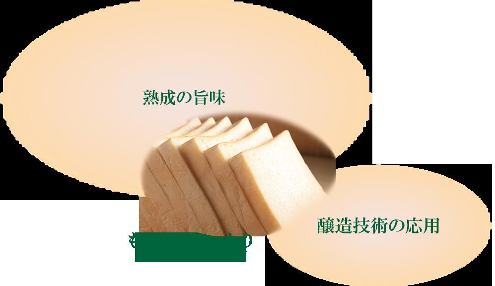 もっちりしっとり             味わい深いパン